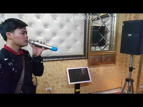 Bộ dàn karaok gia đình sử dụng loa karaoke chuyên nghiệp CAVS nên không? 090.8686.098