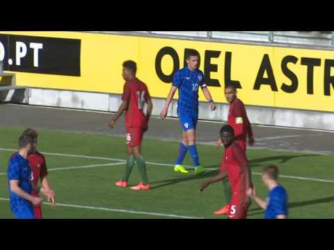 HNTV sažetak: HRVATSKA vs PORTUGAL 1:2 (1.kolo, kvalifikacije za U19 EP2017 Gruzija)