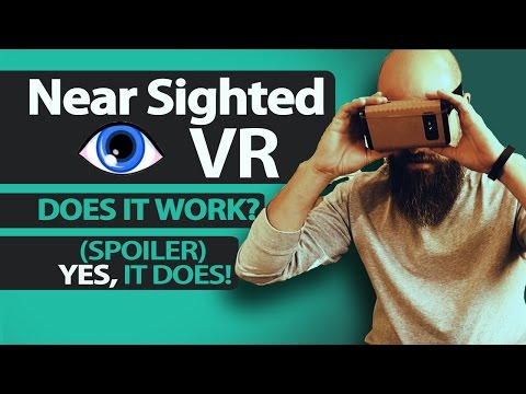 Near Sighted VR ~ Low Vision App Review - The Blind Life