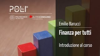 Finanza per tutti - Politecnico di Milano