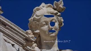 Fontana di Trevi, Le Statue allegoriche sull'Attico (manortiz)