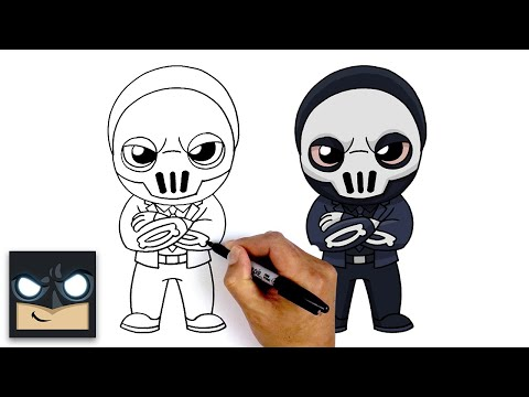 How To Draw Shadow Brutus | Fortnite Chapter 2 Season 2