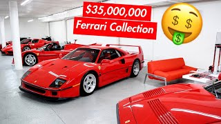 MEET DAVID WHO DAILY DRIVES A $35 MILLION FERRARI COLLECTION!