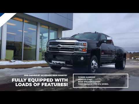 Cornwallis Chevrolet: 2019 Chevrolet Silverado 3500HD High Country