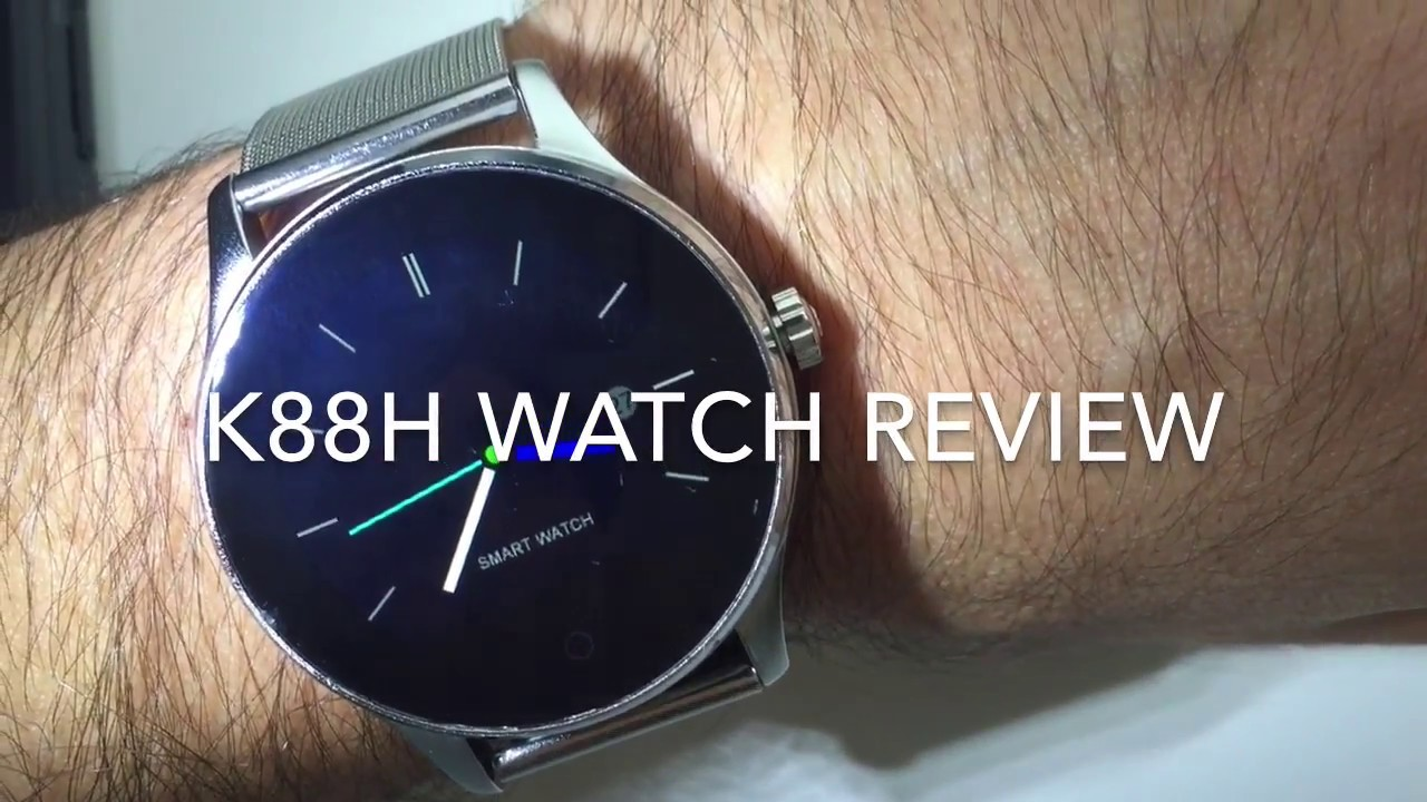 k88h smart watch review