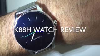 K88h Smart Watch Review