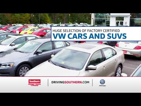 Southern Volkswagen Certified Pre Owned... Where its all about YOU!