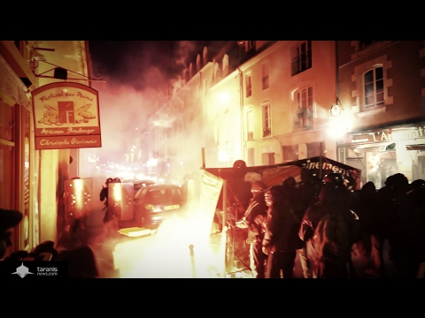 [ARCHIVE] RENNES : SOIRÉE DE GUERILLA ANTIFASCISTE CONTRE UN MEETING DU FRONT NATIONAL