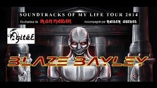 Blaze Bayley Live L'AgitéE, Québec, Canada 11/10/2014