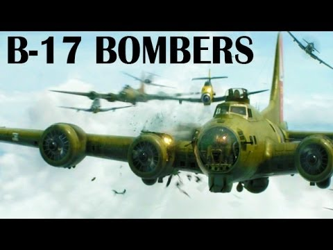 B-17 Flying Fortress Heavy Bombers Over Germany | 1943 | World War 2 Documentary