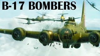 B-17 Flying Fortress Heavy Bombers Over the Nazi Germany | 1943 | USAAF in Europe | WWII Documentary
