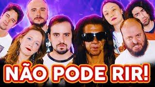 NÃO PODE RIR! - com Away, Paulinho Serra e Japão Nosso de Cada Dia