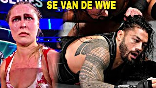 10 Superestrellas que se IRAN DESPUES DE WRESTLEMANIA 35 - Roman Reigns, Ronda Rousey |Wwe PictozPla