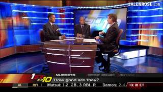 Can the Nuggets Upset the Lakers?  Jalen Rose and Skip Bayless on ESPN First Take