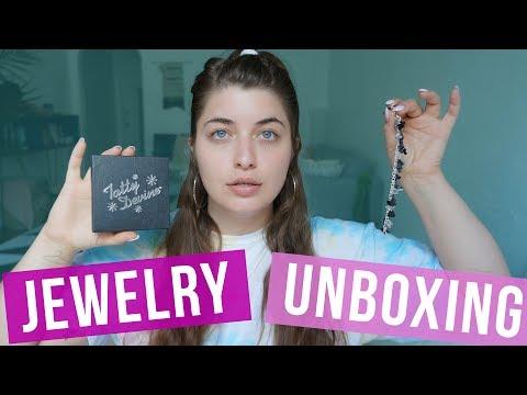 Tatty Devine Custom Jewelry Unboxing // Just Me and My Box | HISSYFIT