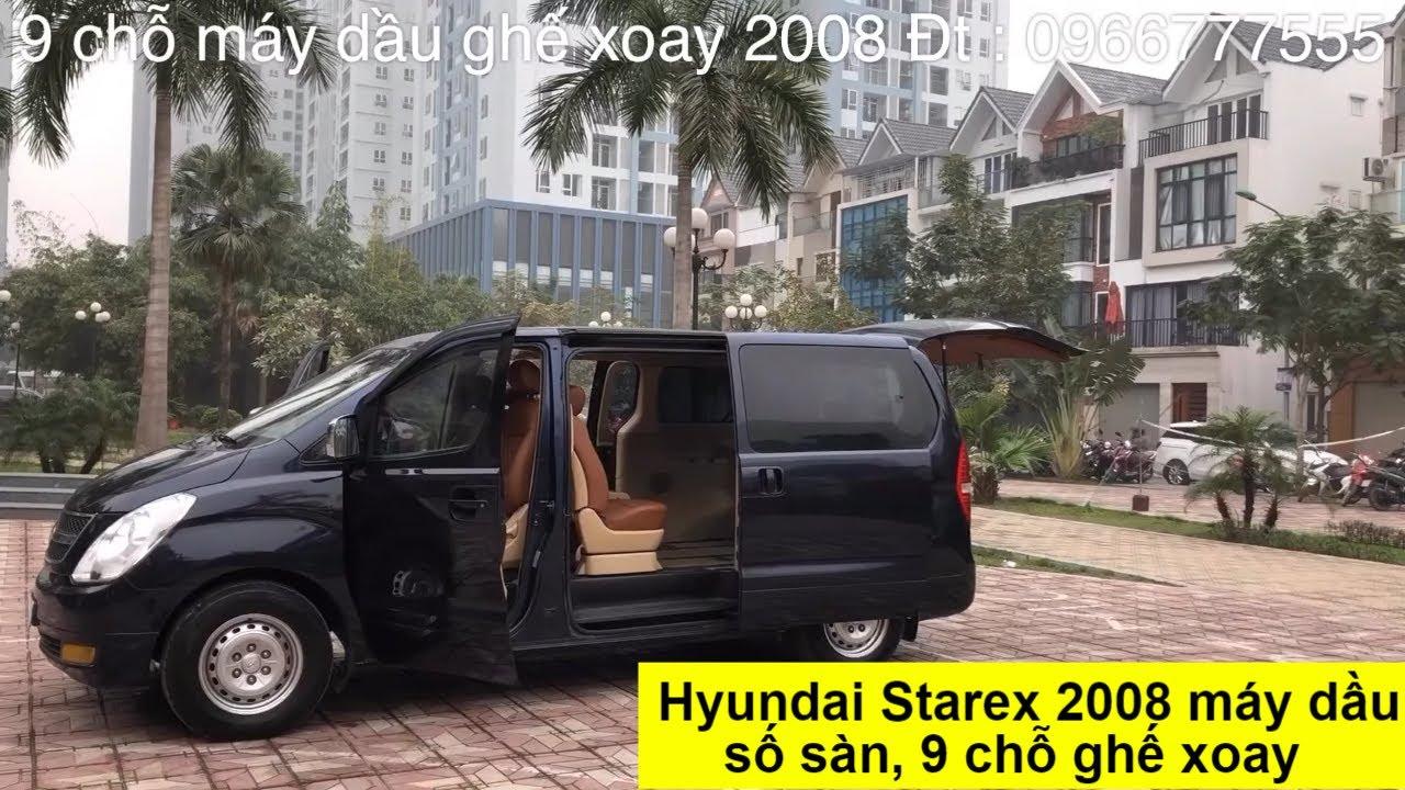 [ Bán Gấp ] Hyundai Grand Starex 9 chỗ, máy dầu ghế xoay, sản xuất 2008. Xe đẹp giá tốt 429 triệu.