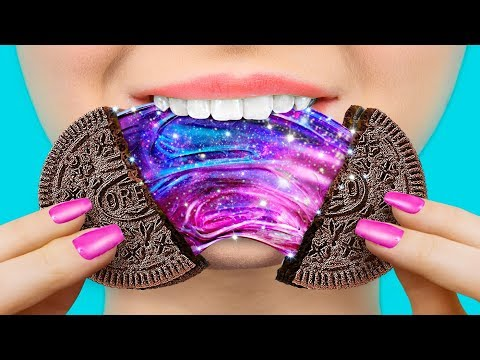8 DIY Galaxy Yummies – Cakes, Lollipops, Ice Cream And More