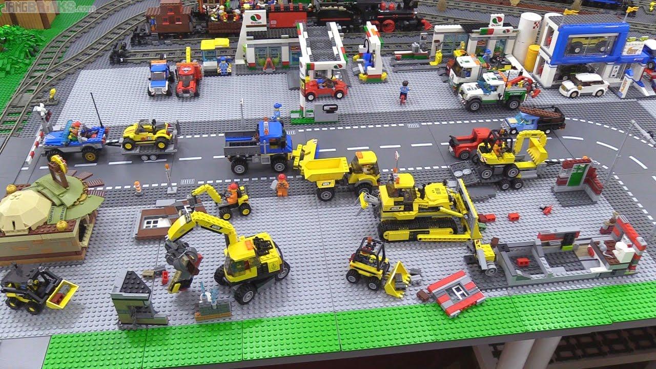 Lego City Update Baseplates Lots Of Baseplates Youtube