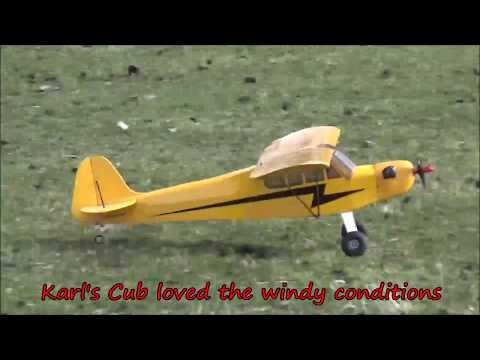 Radio controlled super cub Bixler 3 fpv flying Tasmania