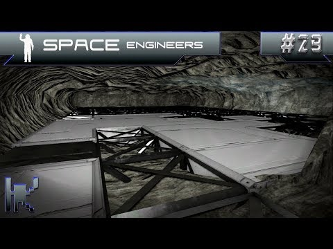 Let's Play Space Engineers - Episode 29: Excavating The Underground Production Cave!