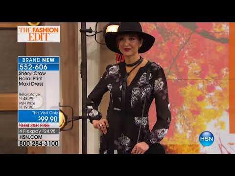 HSN | Sheryl Crow Fashions 10.10.2017 - 10 PM