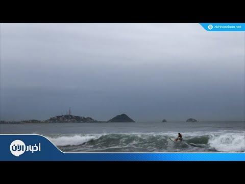 الاعصار ويلا يشتد مع إقترابه من المكسيك  - نشر قبل 6 ساعة