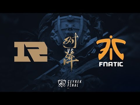 Royal Never Give Up ( RNG ) vs Fnatic ( FNC ) 1. Maç Özeti | Worlds 2017 Çeyrek Final