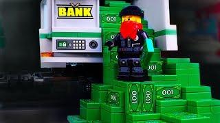 LEGO Train Money Fail💰Super Robbery 💣💵💲