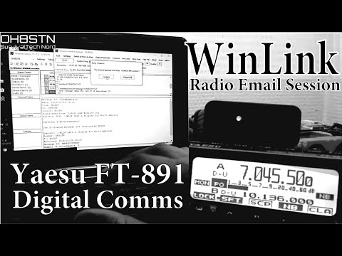 WinLink Radio Email with Yaesu FT-891