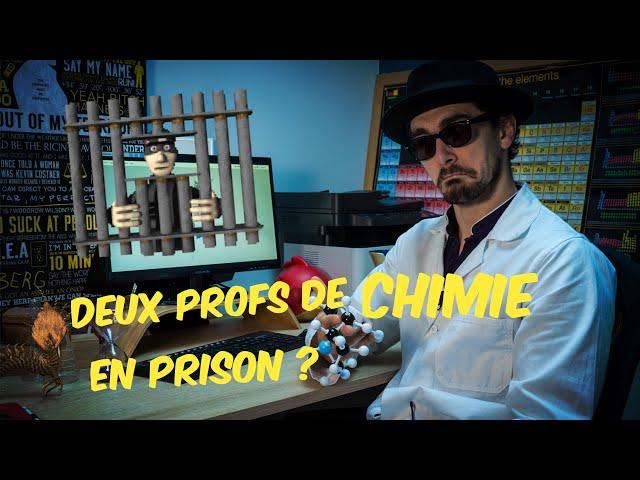 ☢ Deux profs de chimie en prison !? ☢ Quelle chimie dans Breaking Bad (2/n) ?