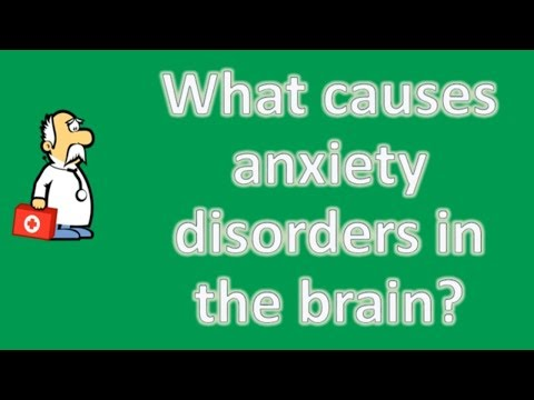 What causes anxiety disorders in the brain ? | Health FAQ Channel