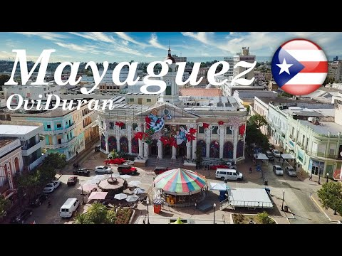 Mayaguez, Puerto Rico From The Air