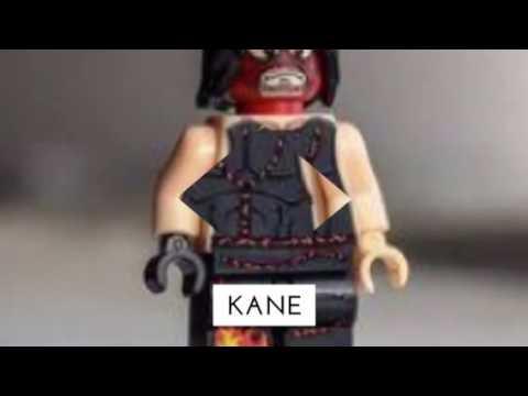 Lego WWE figures