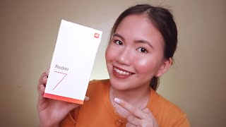 REDMI 7 UNBOXING & FIRST IMPRESSIONS | BUDGET PHONE!?