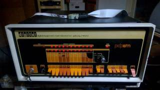 PDP8m testing extended memory controller M837