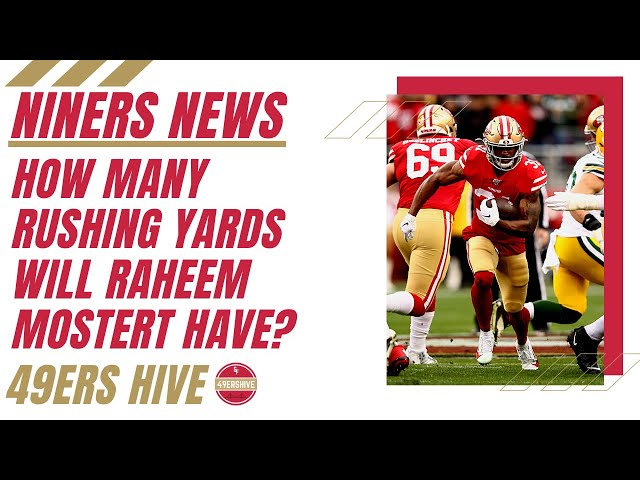 Niners News: How Many Rushing Yards will Raheem Mostert Have in 2020?