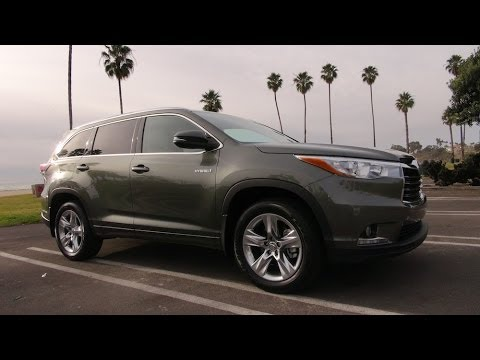 2014 toyota highlander hybrid first drive review youtube. Black Bedroom Furniture Sets. Home Design Ideas