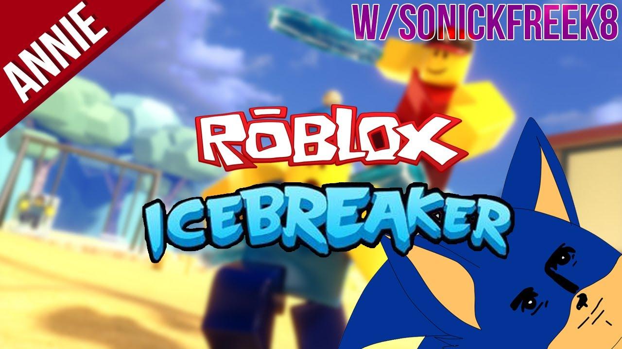 Funny Gameplay | ROBLOX : Icebreaker w/SonickFreek8 - YouTube