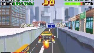 Smashing Drive GBA game play