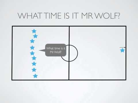P.E. Games - What Time Is It Mr Wolf?