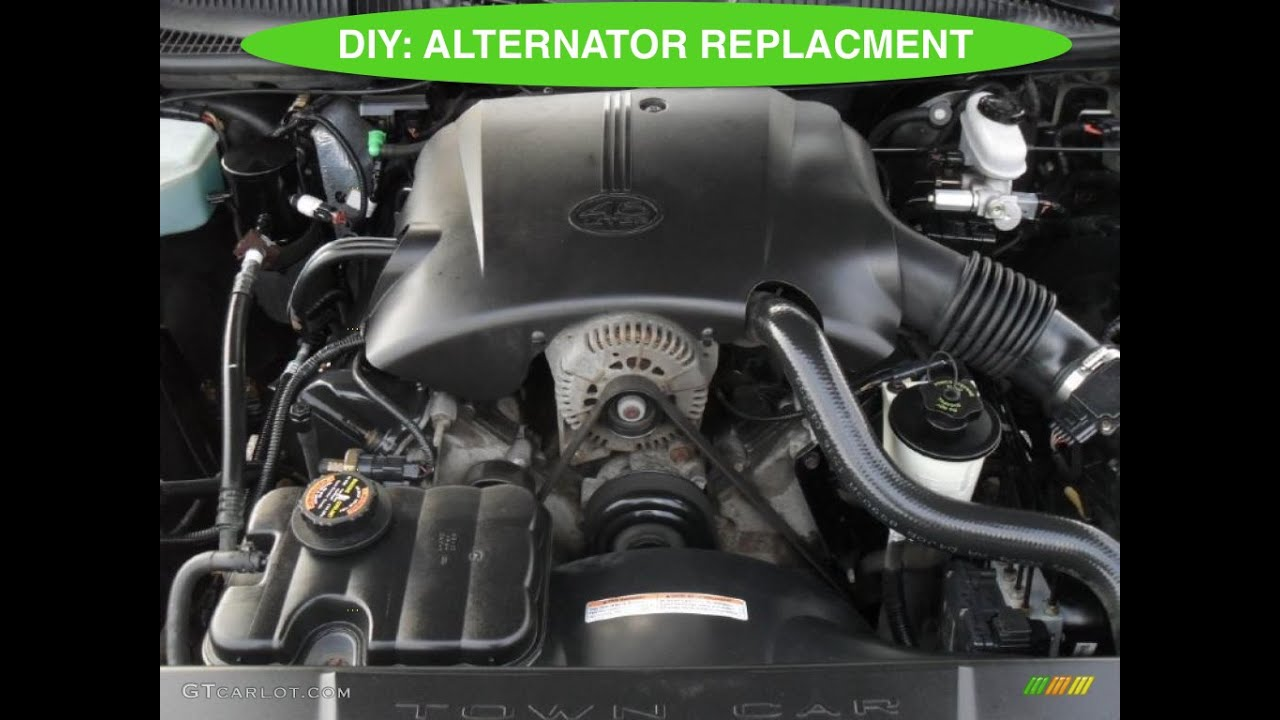1998 Lincoln Town Car Alternator Diagram Free Download Wiring Diagrams 1988 Diy How To Replace An On A Youtube 24 At Signature