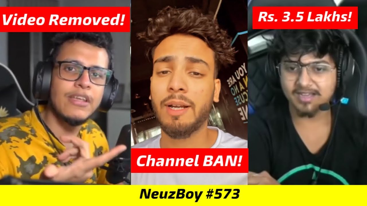 Triggered Insaan,s Video Removed by YouTube, Elvish Yadav's Channel Ban!, Mortal gets Rs. 3.5 Lakh