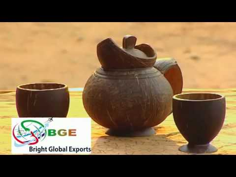 Coconut Shell Handicraft