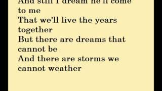 I Dreamed A Dream Karaoke / Instrumental Les Miserables