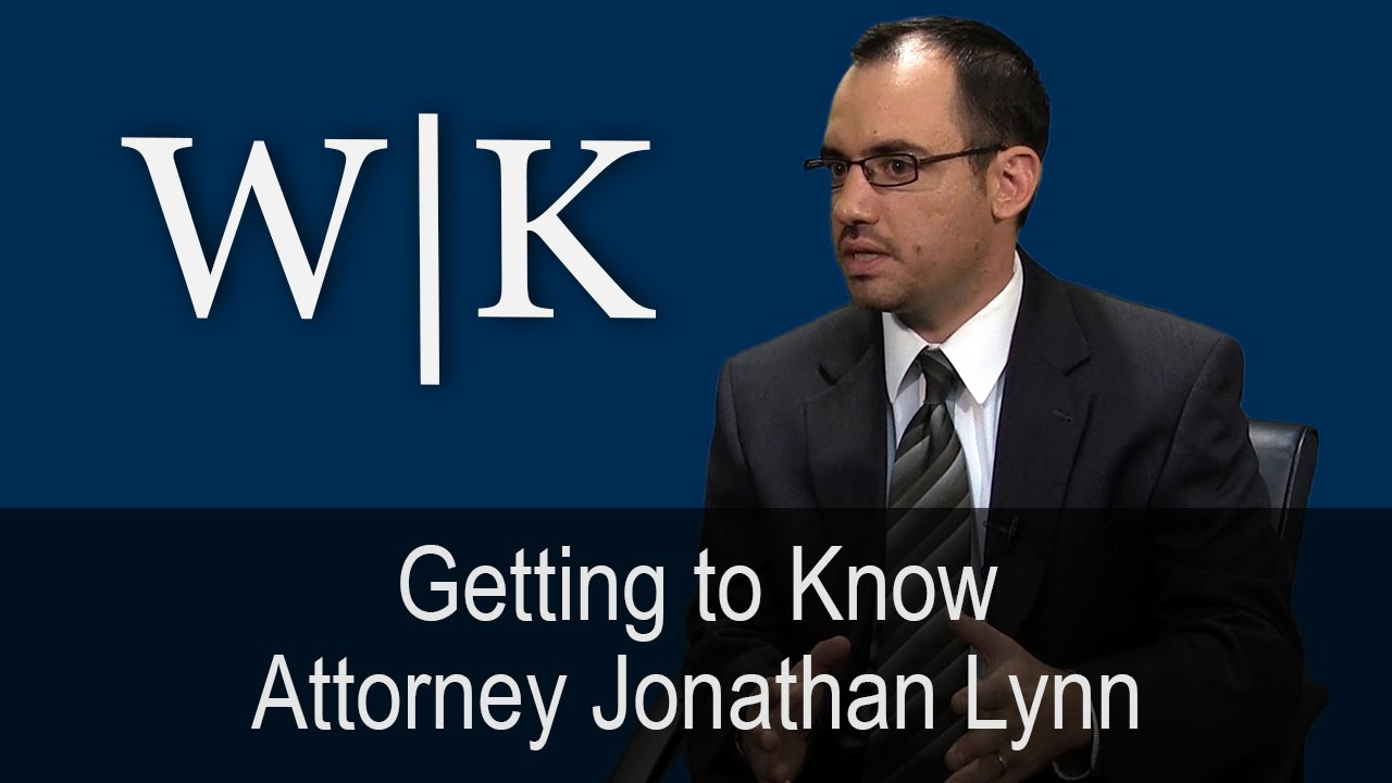 Getting To Know Attorney Jonathan Lynn Youtube