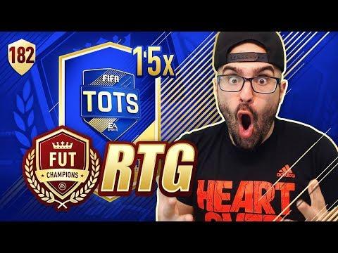 OMG WE GOT INSANE REWARDS! - FIFA 18 Road To Fut Champions #181 RTG
