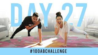 Day 27: 100 Shoulder Tap Planks! | #100AbChallenge w/ Jay Shetty