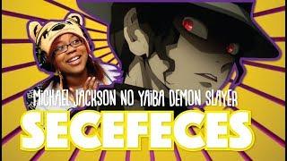 Michael Jackson no Yaiba Demon Slayer by secefeces | Demon Slayer animation Reaction