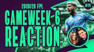 FPL GAMEWEEK 6 REACTION - CITY RUN RIOT AGAINST WATFORD!   FPL Family   Fantasy Premier League  