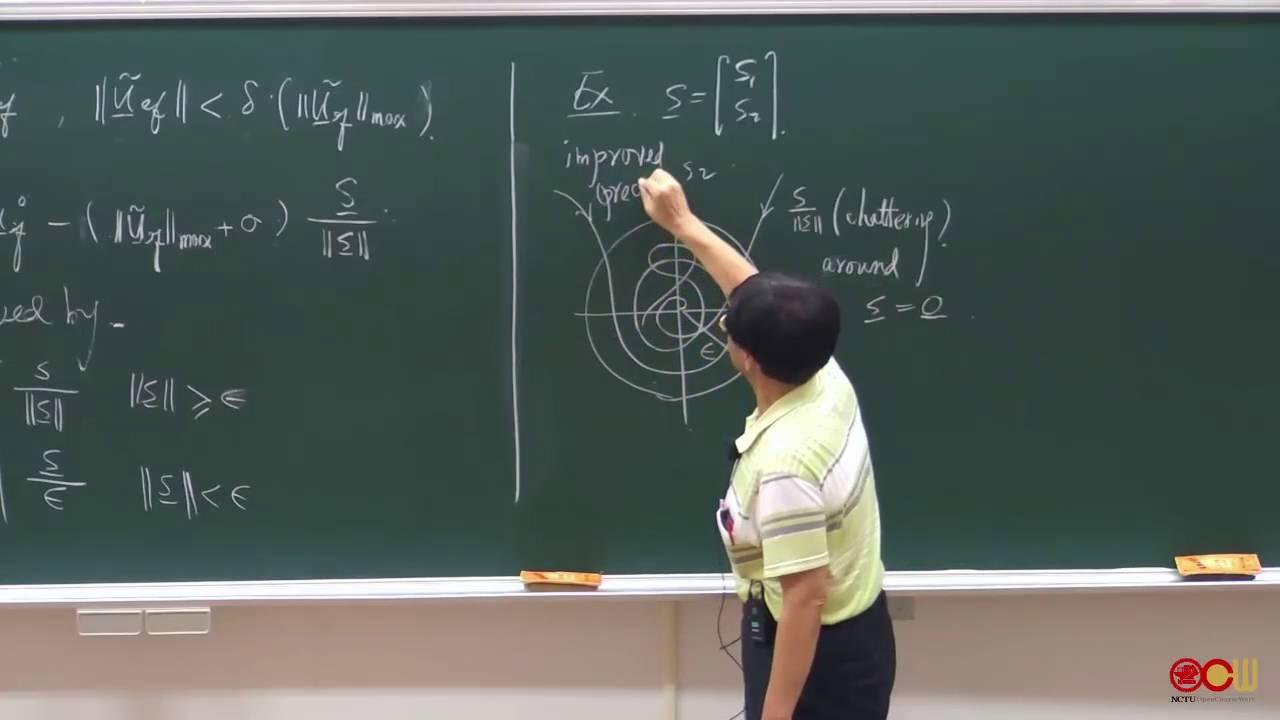 Ch4 線性非時變系統之順滑模態控制法則設計 (2/3) - YouTube